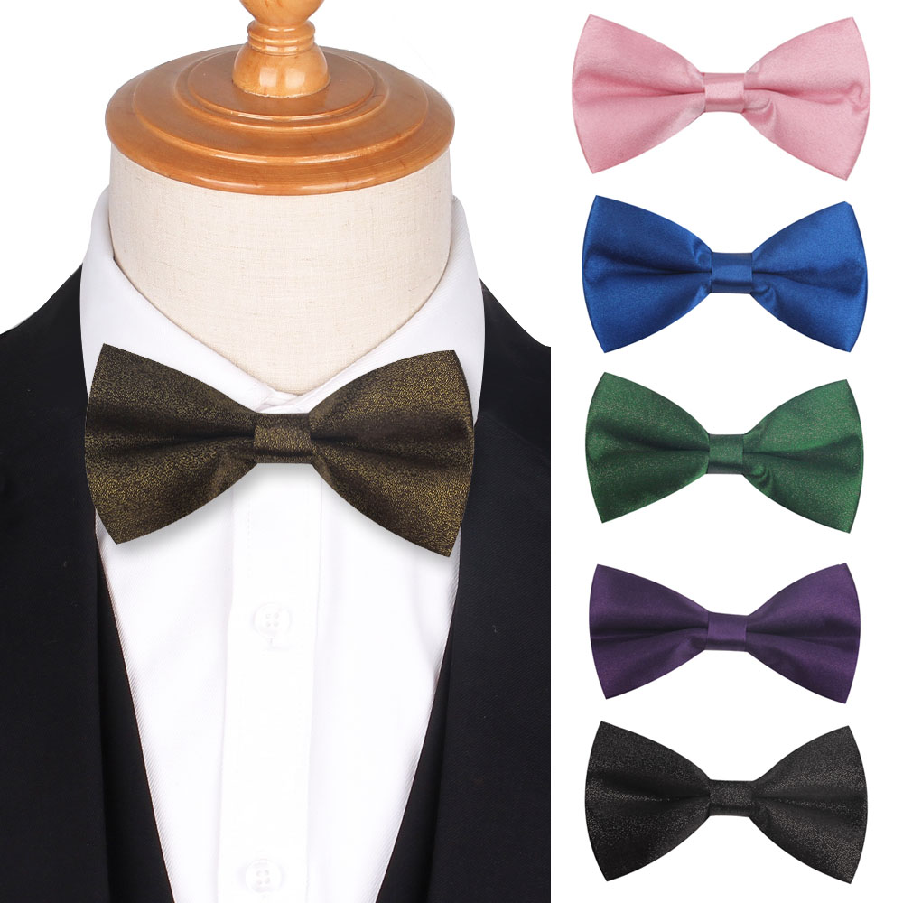 Men Bow Tie Classic Suits Bowtie For Party Wedding Bowknot Adjustable Casual Bow Ties For Men Women Cravats Fashion Ties