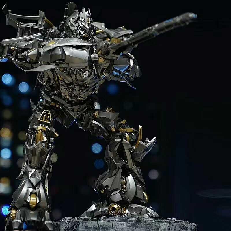 Lensple MPM08 MPM-08 Transformation Galvatron méga surdimensionné alliage original grande figurine KO Robot jouets