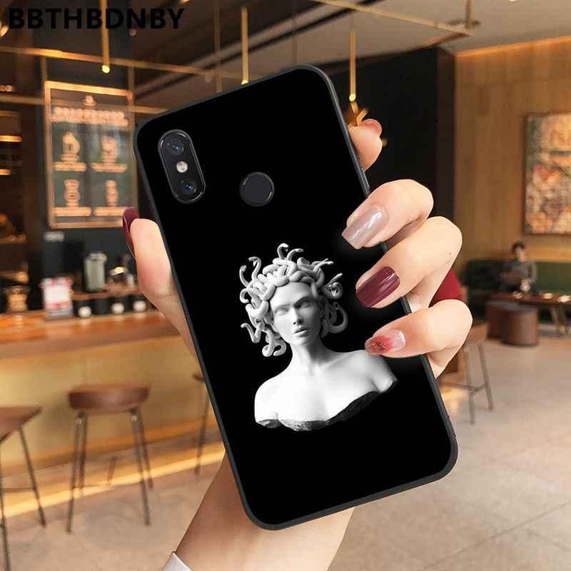 電話 CaseLeopard バンパー paiting 黒ソフトシェル電話カバー xiaomi 8 9 se Redmi 6 6pro 6A 4 × 7 注 5 7