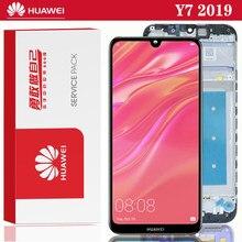 Original 6.26 for for para huawei y7 2019 lcd DUB-LX3 DUB-L23 DUB-LX1 tela de toque digitador assembléia parte reparo da tela móvel