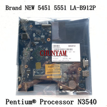 Laptop Mainboard Pentium N3540 CPU LA-B912P Dell Inspiron FOR Cn-00v51v/0v51v/Mainboard/100%tested