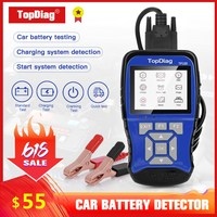 Automotive Battery Analyzer 12V Battery Tester TP280 100 to 2000CCA Smart Circuit Tester For Car Start And Charging Test
