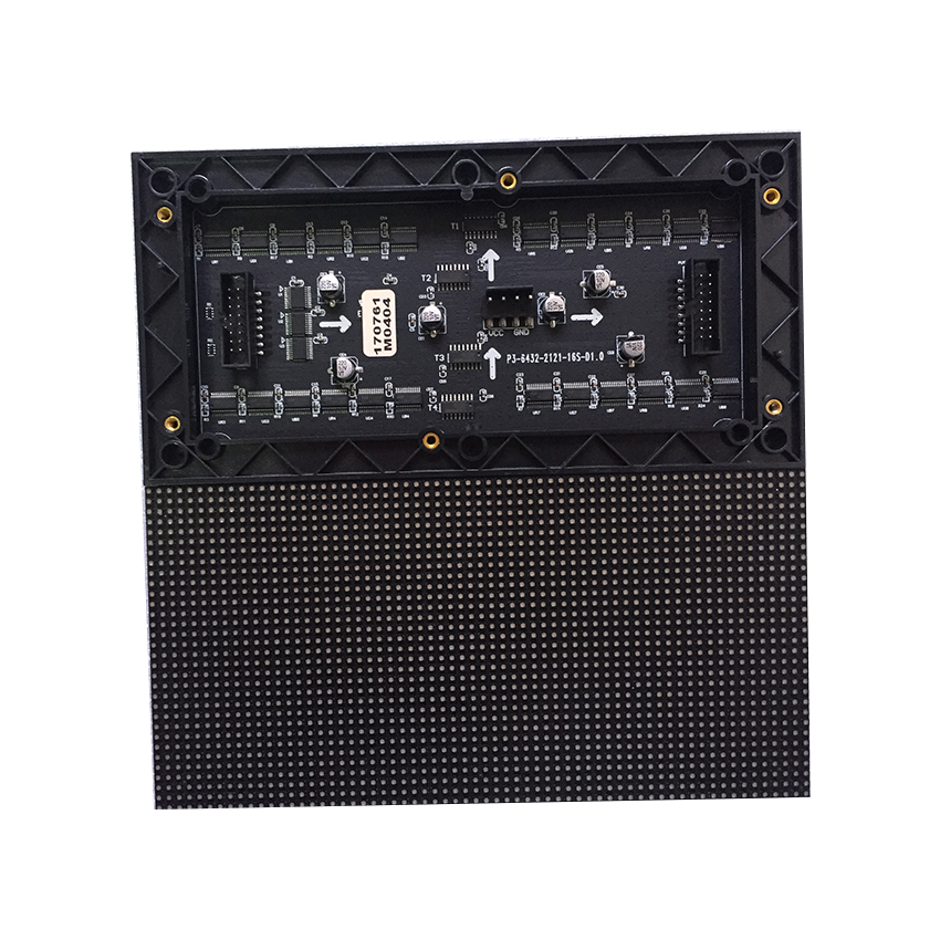 <font><b>P3</b></font> SMD Indoor <font><b>Module</b></font> 192*96mm RGB pixel 64*32 1/16S Full Color LED Display Screens For Video Wall panels Rental Advertising image