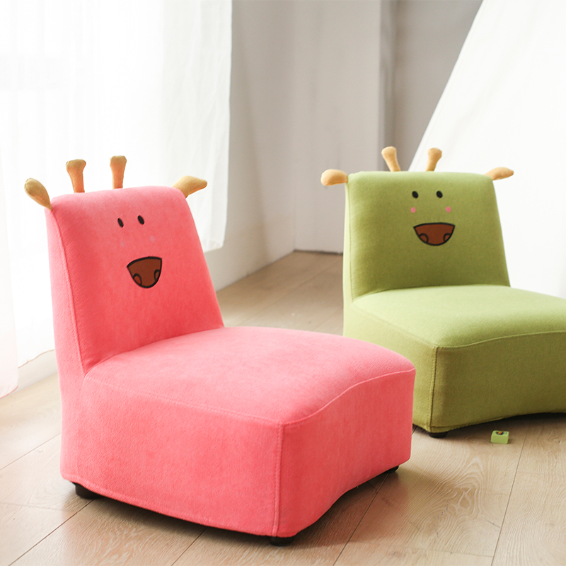 Children's Sofa Cute Stool Baby Small Sofa Chair Creative Kindergarten Cartoon Sofa Chair Estilo Nordico Divano Bambino