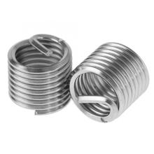 Stainless Steel Square Nuts M14 SS304 Coiled Wire Helical Screw Thread Inserts Wood And Nut