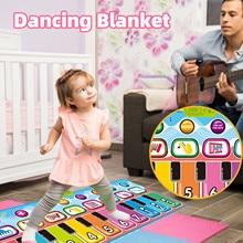 Folding Music & Dancing Mat Kids Play Mat Cushion Game Blanket Educational Toys Recreational Fntertainment Gaming Accessories C