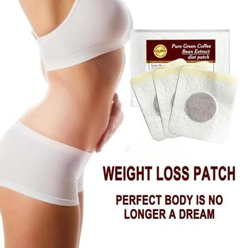 Slimming Belly Button Patch Slim Patch Weight Loss Weight Loss Fat Burning Green Coffee Bean Extract Reduce Appetite Dry Mouth image