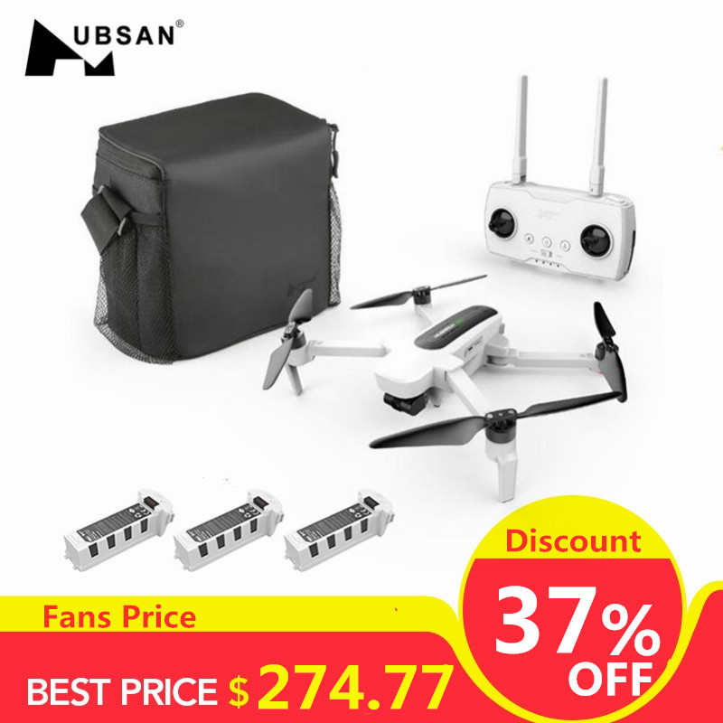 Hubsan Quadcopter Camera Rc Drone 3-Axis gimbal Foldable Zino High-Speed RTF 1KM