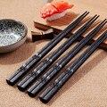 Японские Палочки для еды  1 пара  Нескользящие палочки из сплава для еды  китайские палочки для еды  многоразовые палочки для еды