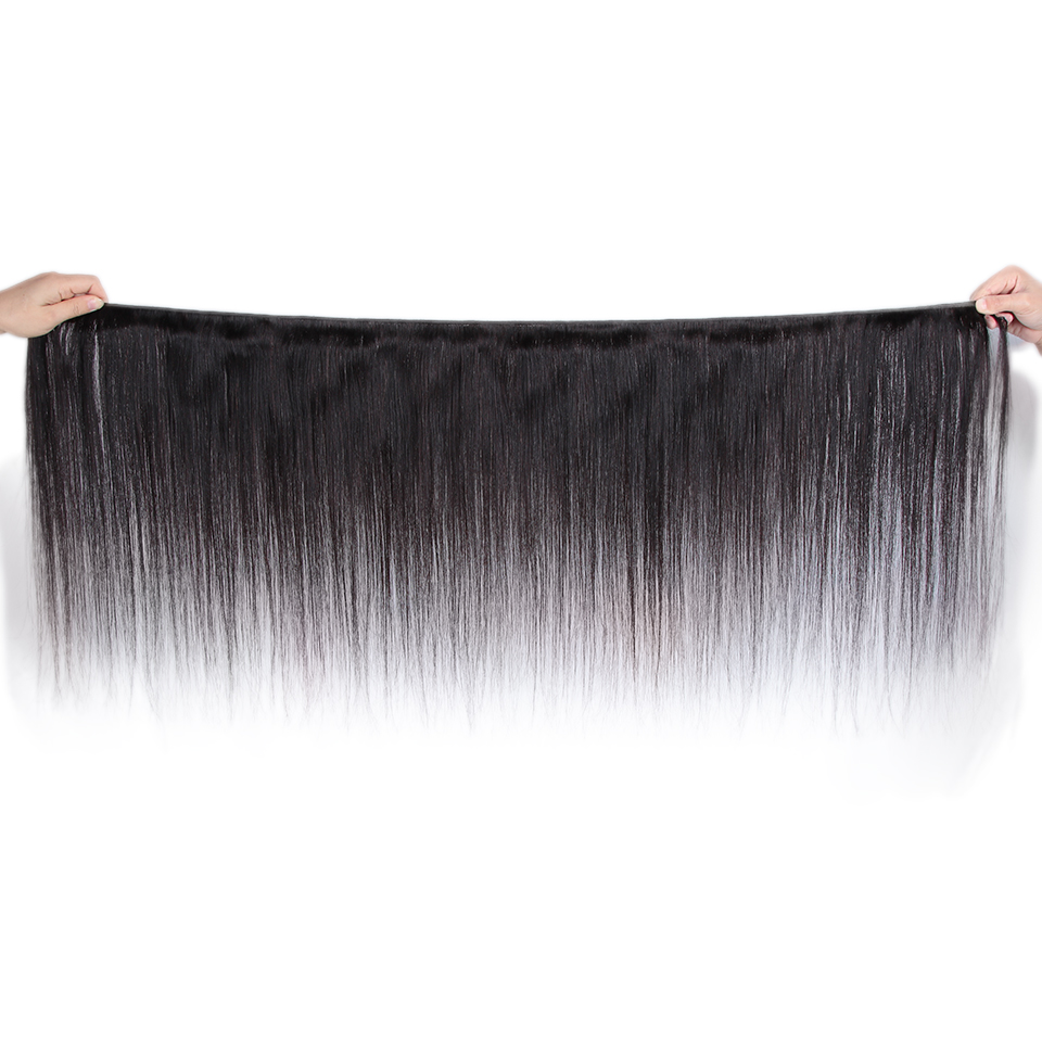 Remy Forte Straight Hair Bundles With Closure Non Remy 8 30 Inch Hair Brazilian Hair Weave Remy Forte Straight Hair Bundles With Closure Non Remy 8-30 Inch Hair Brazilian Hair Weave Bundles 3/4 Bundles With Closure