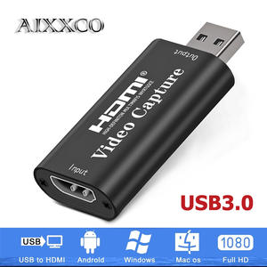 Record-Box Camcorder Capture Video-Grabber Game Hdmi-Card Live-Streaming AIXXCO 4K USB