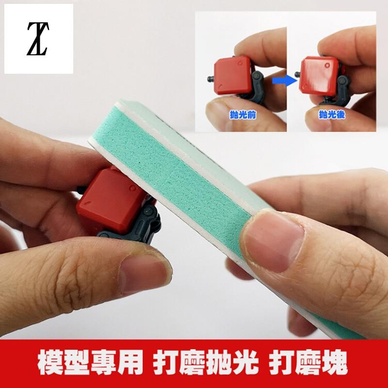For Model Making Tools Gundom Transformation Tool Accessories SEN Sanding Double Sided Sponge
