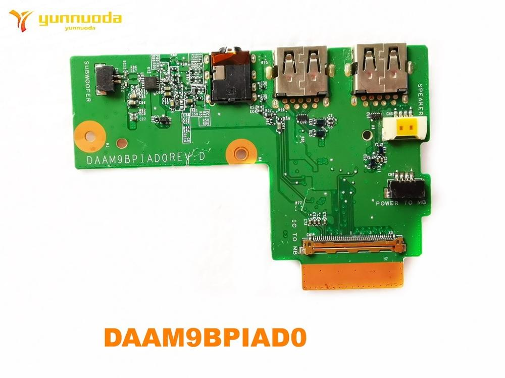 Original FOR <font><b>Dell</b></font> <font><b>Inspiron</b></font> <font><b>5577</b></font> Audio USB Board DAAM9BPIAD0 tested good free shipping image