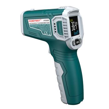 Habotest 650H cyfrowy termometr infared termometr czoło pistolet termiczny miernik test temperatury ciała tanie i dobre opinie 49 ° C i Pod Termometr na podczerwień DIGITAL OUTDOOR Aaa baterii Handheld 2 0-3 9 Cali