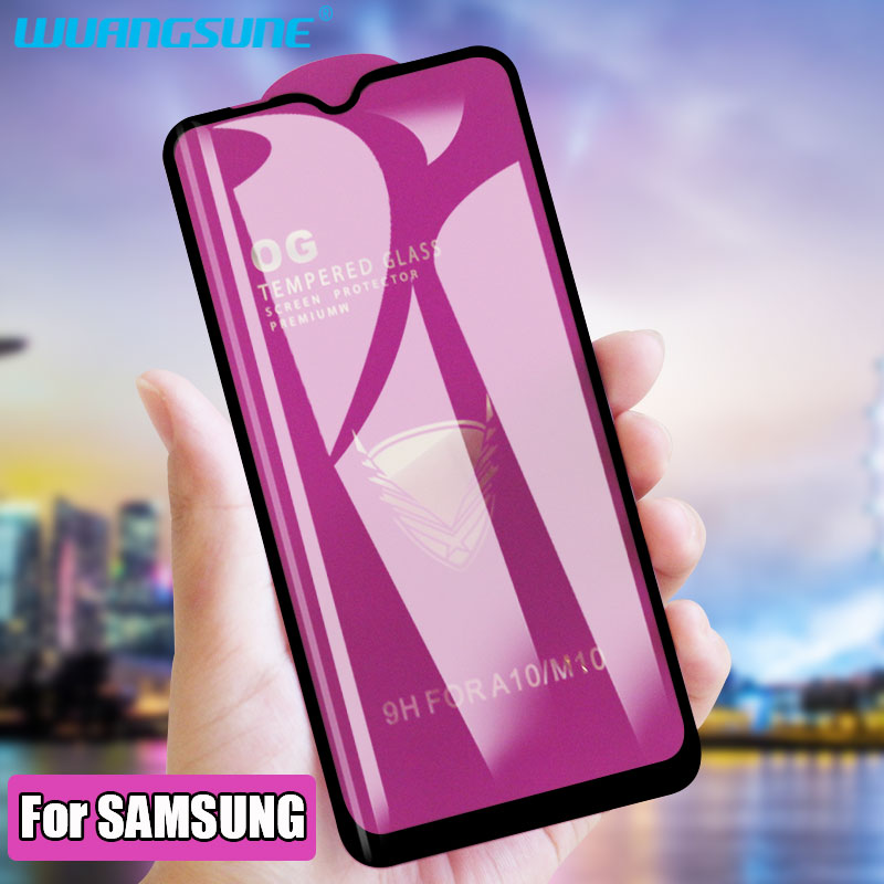 Golden Armor Tempered Glass For Samsung Galaxy M10 M20 M30 Screen Protector Film On A30 A40 A50 A60 A70 A80 A90 Protective Glass