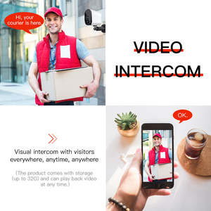 Image 3 - FREDI 낮은 전력 야외 IP 카메라 1080P 정말 무선 감시 카메라 홈 보안 방수 배터리 와이파이 IP 카메라