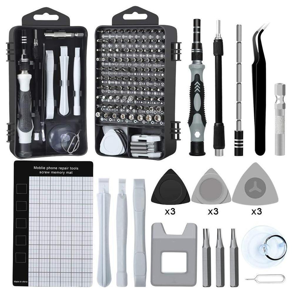 Hand Tool Kit Precision Screwdriver Set Phone Repair Set Precision CR-V Screwdriver Bit Set Mobile Phone Repair Tools