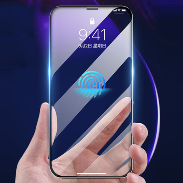 3D מלא דבק מזג זכוכית עבור iPhone 11 11 פרו 11Pro מקסימום 9H מלא מסך כיסוי מסך מגן סרט עבור iphone 12 מיני Pro מקסימום