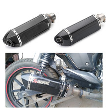 51mm Universal Motorcycle Akrapovic Yoshimura Exhaust Muffler Pipe Escape Moto CBR125 CB400 TMAX530 GSXR650 Racing(China)