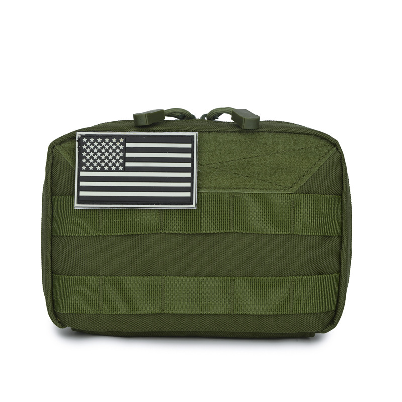 Outdoor Multi-functional Molle Sports Waist Pack Travel First Aid Medical Kits Tactical Equipment Wallet Plug-in Module Bag