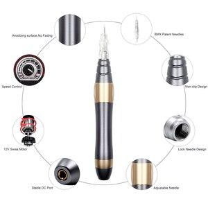 Image 3 - Biomaser bmx001 p300 kits de máquina maquiagem permanente sobrancelha tatuagem caneta pistola giratória para sobrancelha delineador lábio tatuagem conjunto