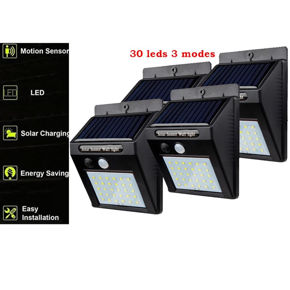 7 Colors Changing Solar Panel Spotlight Garden Outdoor Waterproof Wall light
