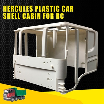 Hercules Plastic Car Shell Cabin for RC DIY 1/14 Scania Tractor Truck RC Cars Parts Model