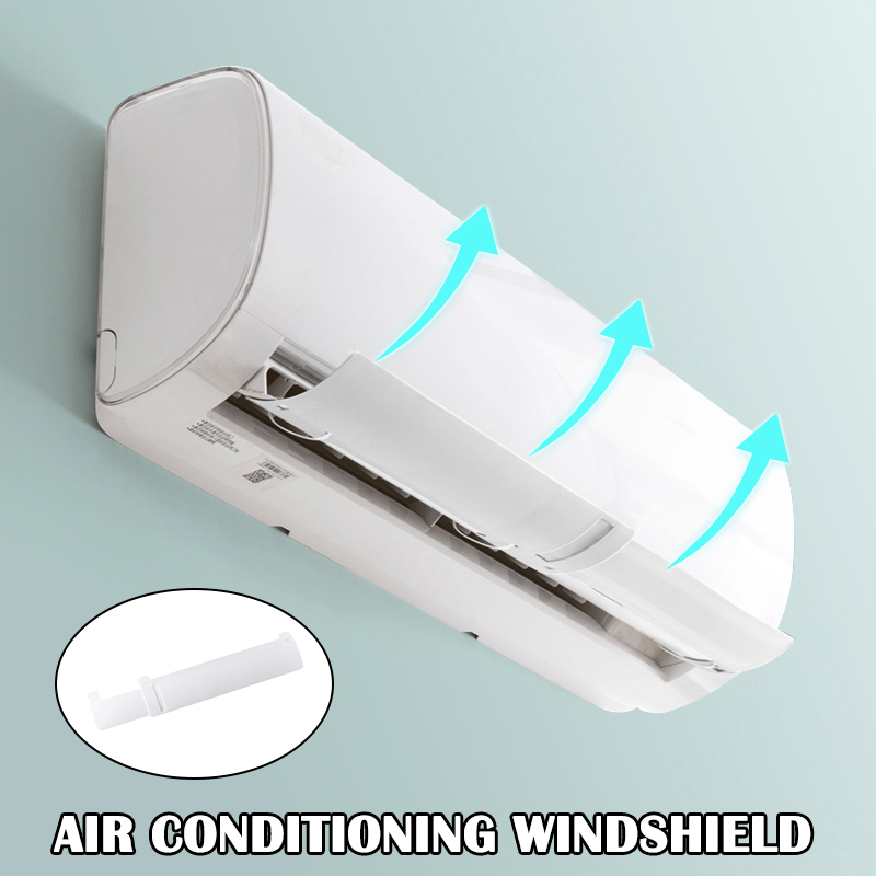 High Air Conditioner Windshield Cold Wind Deflector Retractable Baffle For Home Office Hotel UEJ