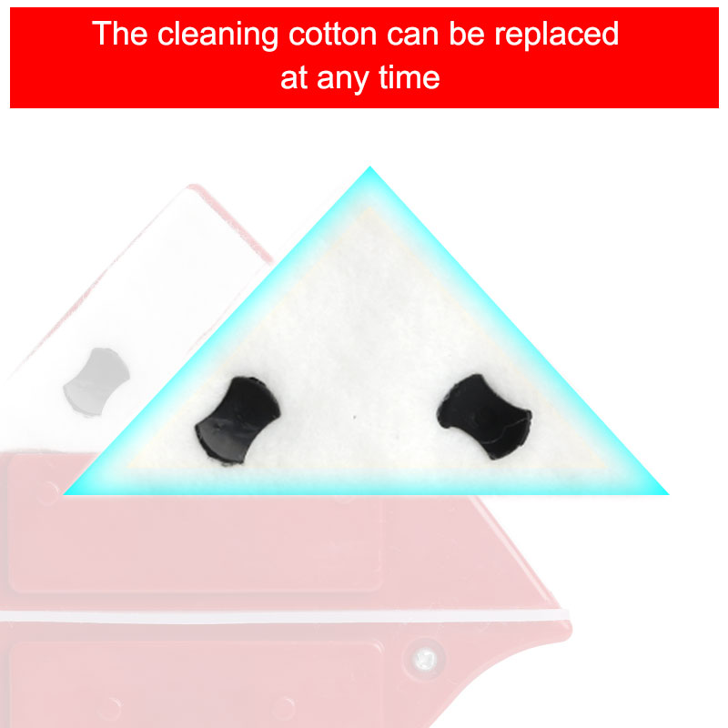 Image 4 - Magnetic Window Wiper Glass Cleaner Brush Tool Double Side Magnetic Brush Window Glass Brush for Washing Household Cleaning Tool-in Cleaning Brushes from Home & Garden