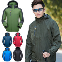 Newly Men Sports Thin Windproof Coat Hoodie Mountain Wear Snowboarding Outdoor Tops for Spring Fall S66