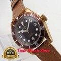 Corgeut Автоматические Мужские часы с сапфировым стеклом  41 м  Miyota 8215  20ATM  pvd