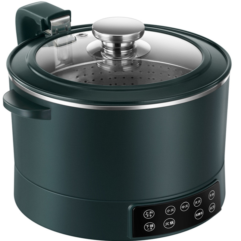 220V Нержавеющаясталь внутренний бытовой электрический рисовое Плита 3L автоматический подъемник горячий горшок с низким/высоким содержанием сахара риса Плита белый/зеленый цвет