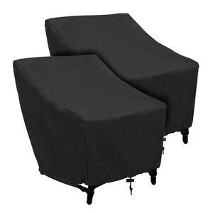 Водонепроницаемый открытый патио садовая мебель пылезащитный чехол для дивана стол и стул пылезащитный чехол для дивана