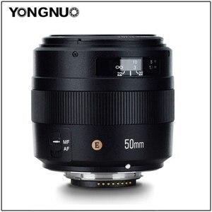 Image 2 - YONGNUO YN50mm Lens YN50mm F1.4 Standard Prime Lens Large Aperture Auto Focus Lens for Canon EOS 70D 5D2 5D3 600D for Nikon DSLR