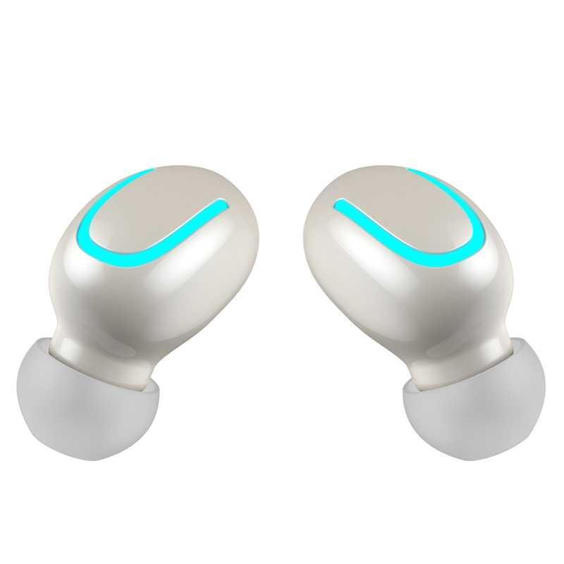 Bluetooth 5.0 イヤホン Tws ワイヤレスヘッドフォン Blutooth イヤホンハンズフリーヘッドホンイヤゲーミングヘッドセット電話 Pk Hbq