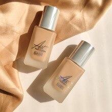 maquillaje profesional 4 Colors Foundation Soft Matte Long Wear Oil Control Concealer Liquid Foundation Cream Women Makeup