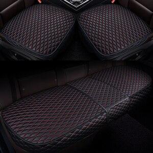 Image 1 - רכב קדמי אחורי מושב מכסה מכונית מושב המכונית כרית מושב כריות אוטומטי פנים רכב משאית Suv ואן מושב כיסוי מכונית מחצלת כיסוי