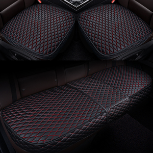 Image 1 - Car Front Back Seat Covers Car seat pad Car seat cushions Auto Automotive interior Truck Suv Van seat cover Car Mat Cover