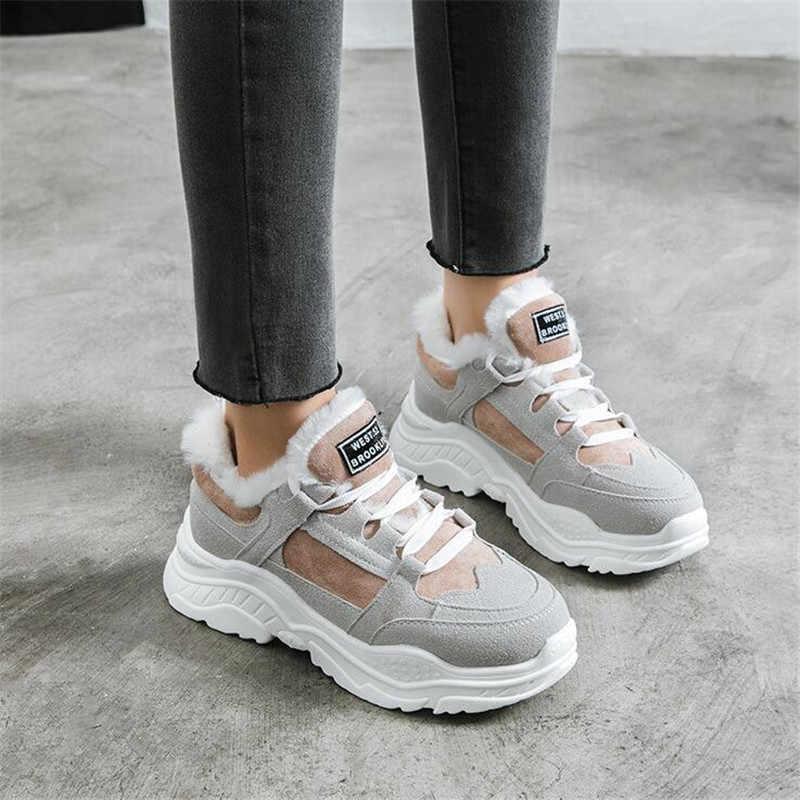 2018 nowe buty sportowe buty zimowe damskie kobiety trampki