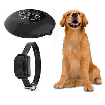 IP67 impermeable eléctrica inalámbrica valla para perro con perro Collar de entrenamiento receptor estantes rango adecuado para todos los perros de compañía cerca