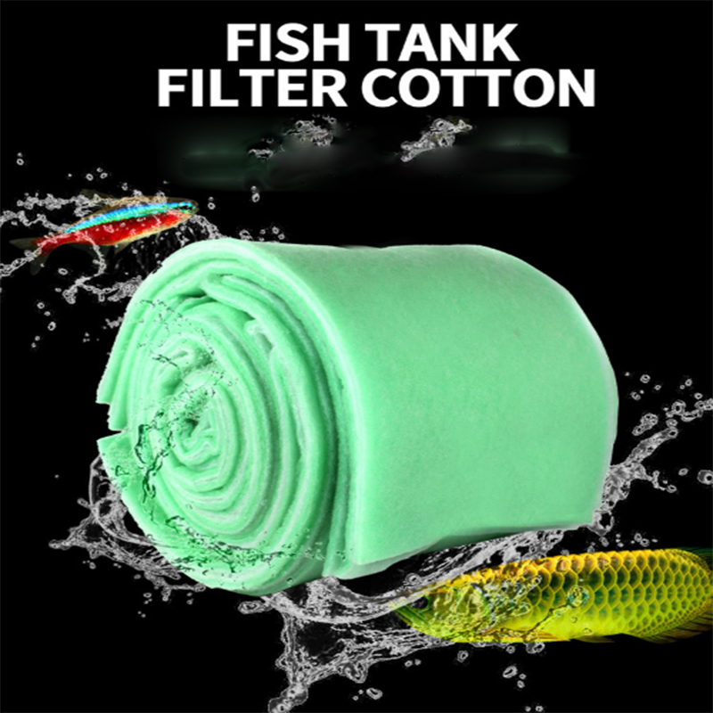 Practical Biochemical Cotton Sponges Fish Tank Aquarium Water Filter Spong 2 Colors Foam Sponge Cotton Pad Mat 3 Sizes