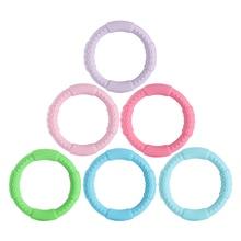 3 sztuk ząbkowanie bransoletka dla dzieci silikonowa bransoletka typu Bangle dla dzieci dla dzieci do karmienia opaska na nadgarstek gryzak biżuteria przypominająca jedzenie klasy silikonowe BPA darmo