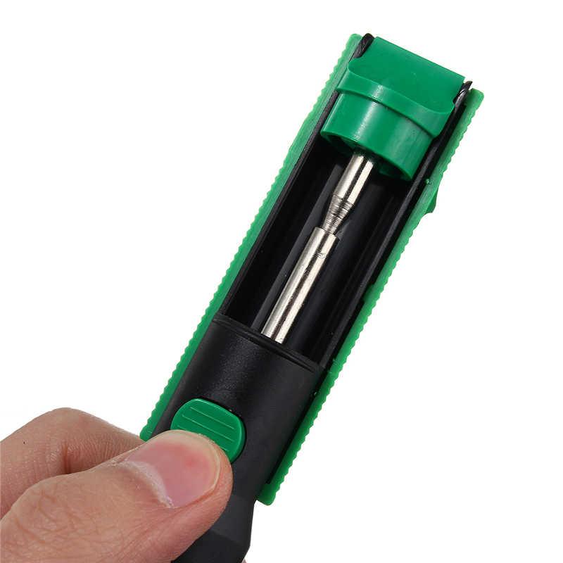 Pompe à dessouder en métal aspiration étain pistolets à souder ventouse stylo enlèvement vide fer à souder dessoudeur outils de soudage à la main