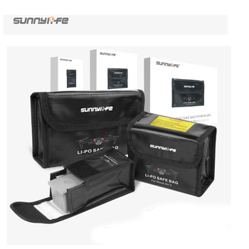 Drone Battery Safe Bag Mavic Air 2 Lipo Fireproof Case Explosion-proof Battery Storage Bag for DJI Mavic Air 2 Accessories