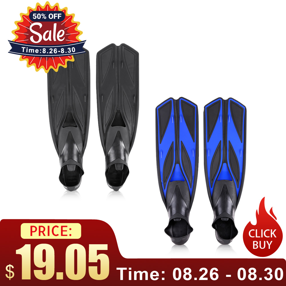 Flippers Foot-Fins Snorkeling Swimming-Fins Diving Water-Sports Adult Profession Flexible