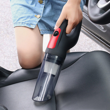 USB Charging Car Vacuum Cleaner 4500PA 120W Car Home Dual-use Wet and Dry Vacuum Cleaner with Washed Filter car accessories