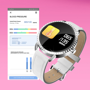 Image 4 - LIGE ใหม่ 1.0 นิ้วแฟชั่นผู้หญิงสมาร์ทนาฬิกาผู้ชายกันน้ำ Heart Rate Monitor แคลอรี่ Smartwatch ผู้หญิงสำหรับ Android IOS iPhone