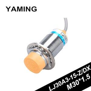 LJ30A3-15-Z/DX Inductance Type Proximity Switch Sensor 24V36V DC Two Wires NC M30