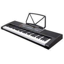 MK-2117 255 Timbres 255 Rhythmen Elektronische Tastatur 61 Tasten Led-anzeige Elektronische Orgel 3-Schritt Lektion Digital Piano