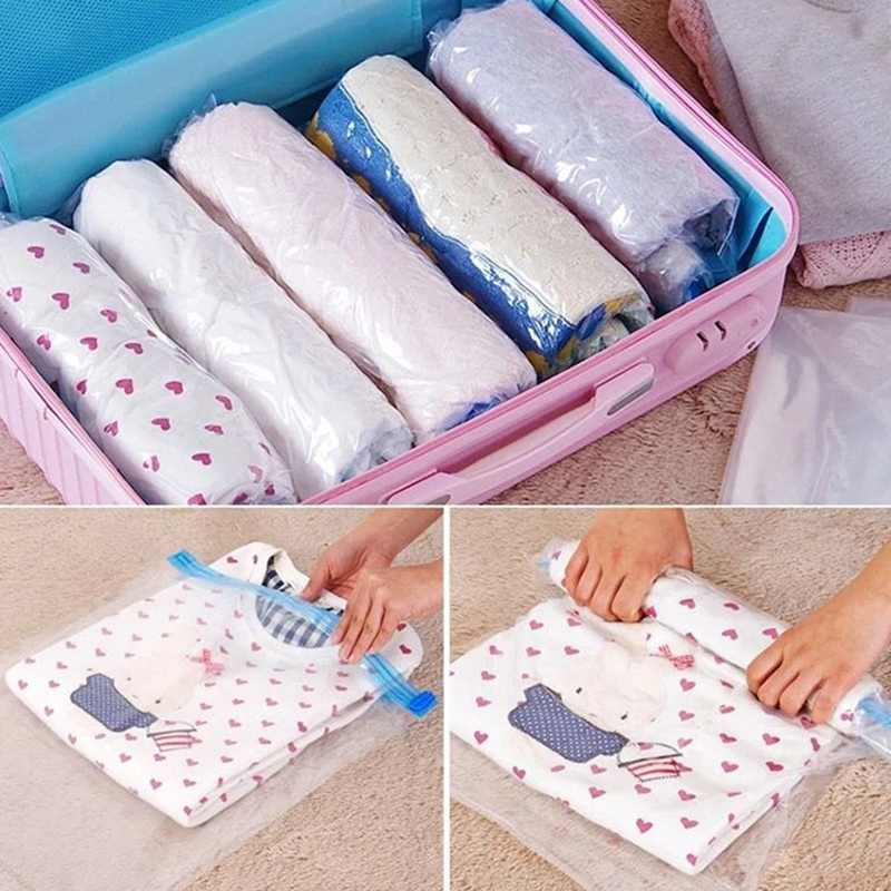 Reusable vacuum seal bags for clothes wholesale